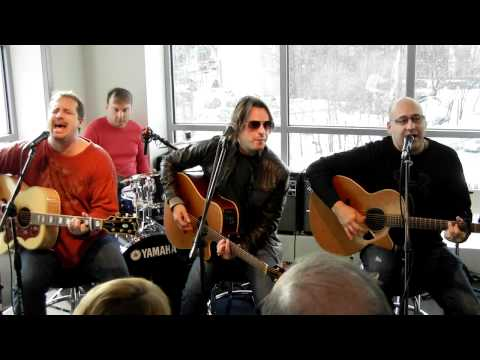 Sister Hazel - All For You (acoustic) - Boston, MA 1/22/11