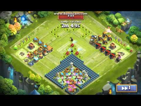 Castle Clash : Definition of being wiped off the map