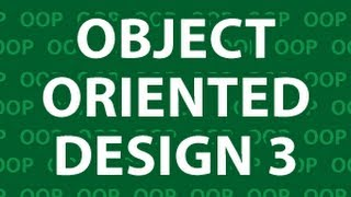 Object Oriented Design 3