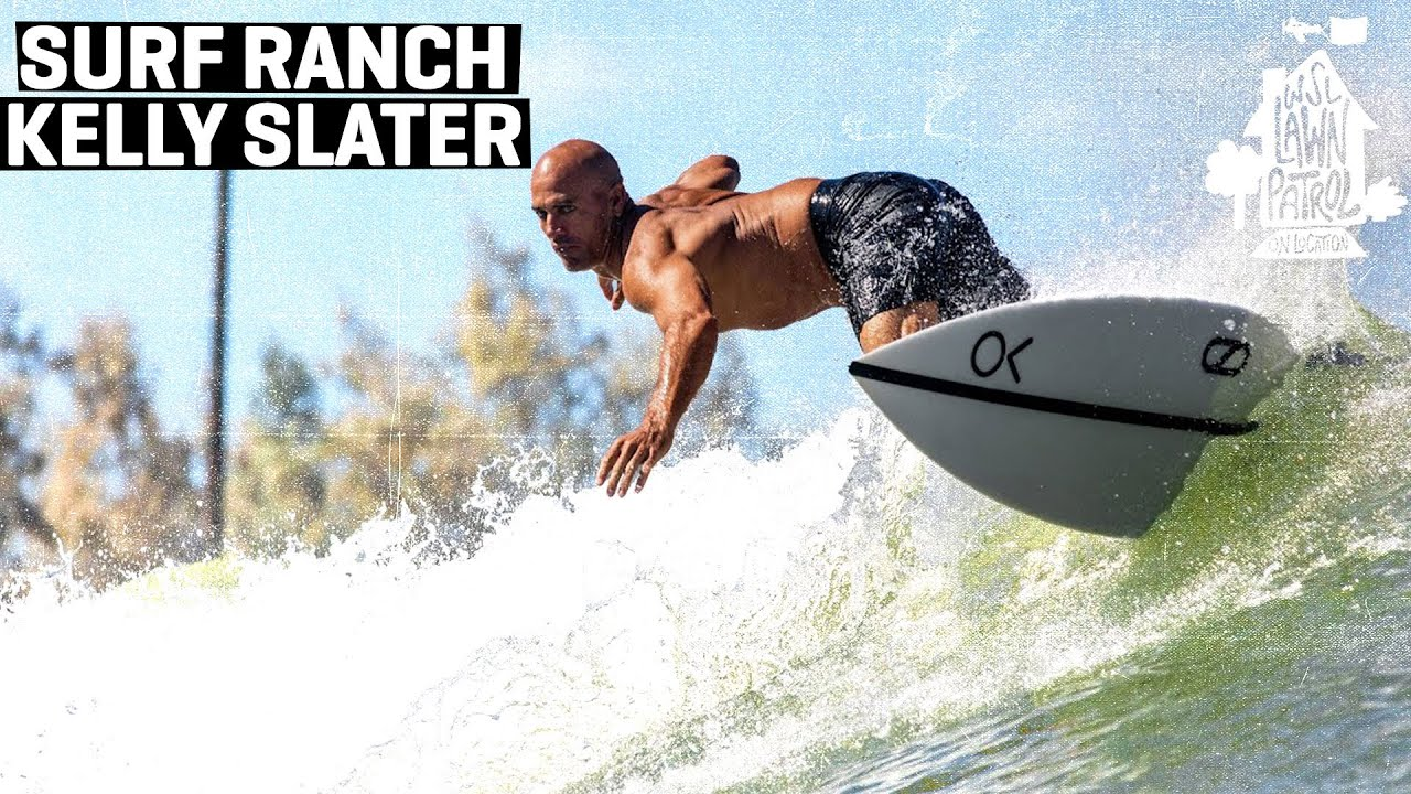 Surf Ranch Innovator And 11x World Champ Kelly Slater Shows You Around His Creation | LAWN PATROL