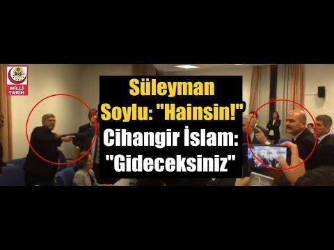 Süleyman Soylu'dan Cihangir İslam'a: Hainsin! (Cihangir İslam: Gideceksiniz..)