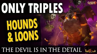 TOWN HALL 10 LAVA HOUNDS AND BALLOONS | KING JEFFREY EXECUTING AIR ATTACKS IN TOP LEVEL LEAGUE WARS