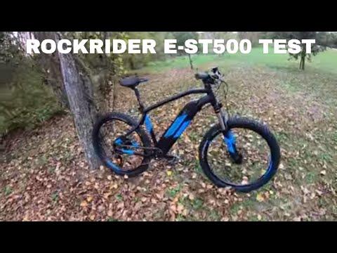 1.199€ MTB ELETTRICA ROCKRIDER E-ST500 TEST E RECENSIONE