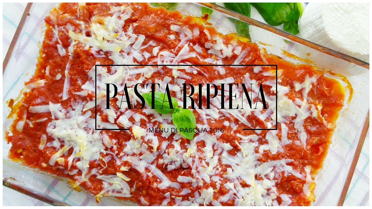 Menu di pasqua ricette primi piatti per pasqua ricette for Ricette veloci vegetariane primi piatti