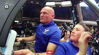 Alexander Gerst übergibt ISS-Kommando
