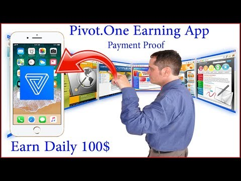 How To Earn Daily 100$ With Pivot One App | Earning Trick | Payment Proof | Urdu/Hindi