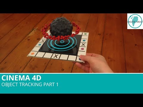 New In Cinema 4D R18: Object Tracking Part 1