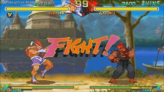 [HD] - Fightcade - Street Fighter Alpha 2 - Quintino(BRA) Vs Shadowonlive(BRA)