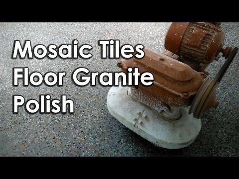Mosaic Tiles  Floor Granite Polish