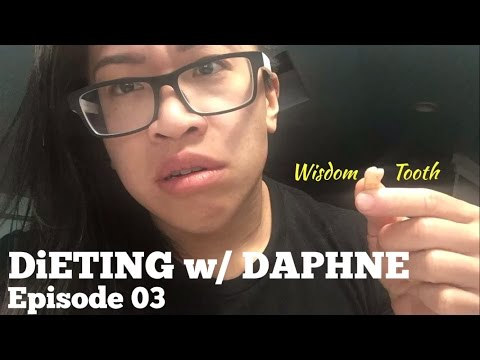 Dieting w/ Daphne Ep. 03 (Unprepared, Getting my Wisdom tooth pulled, and I Still Hit My Macros)
