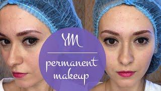 видео перманентный макияж волосковой техникой