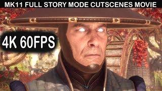 MORTAL KOMBAT 11 All Cutscenes (Game Movie) FULL Story Mode 4K 60FPS
