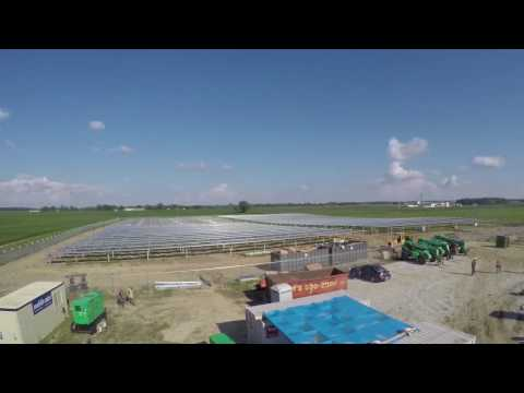 Trafalgar Solar Time-lapse - Johnson County REMC