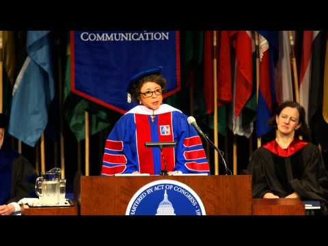 SOC Commencement Speaker Sheila C. Johnson - YouTube
