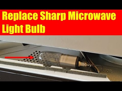Replace Sharp Microwave Light Bulb