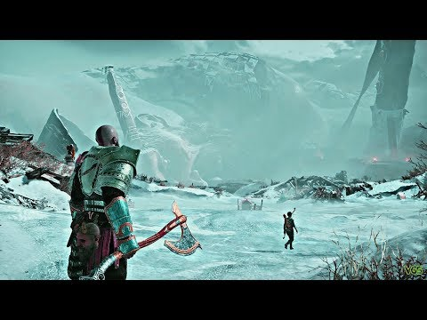 God of War - Bringing Down a Dead Frost Giant