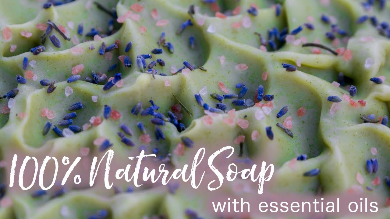 100% Natural Soap with Essential Oils