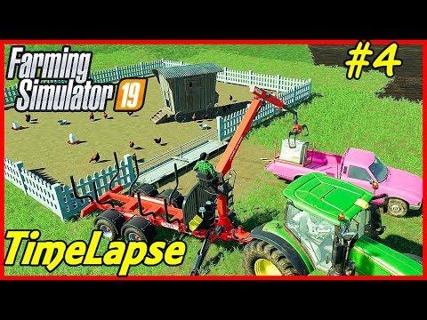FS19 Timelapse, Felsbrunn #4: Chicken Feed!