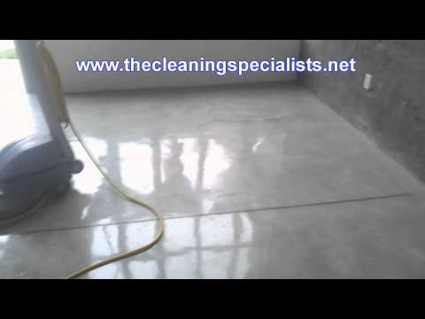 San Diego Green/Organic Concrete Floor Polishing