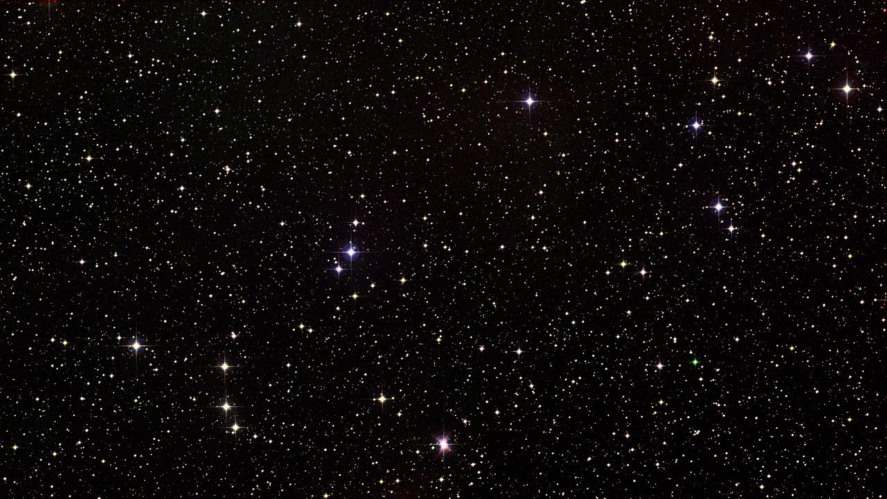 Stars at Night Visual & Cricket Sounds