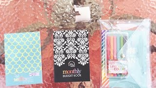 erin condren s budget book wellness journal and planner bundle kit