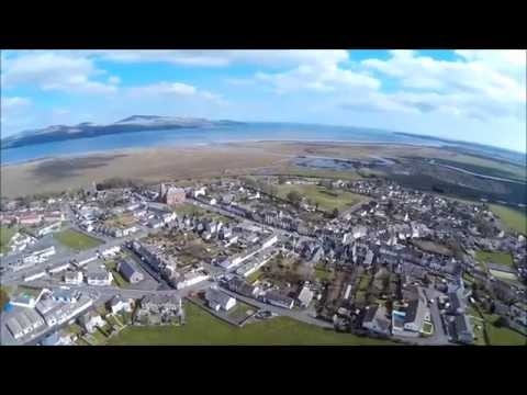 Wigtown from a drone