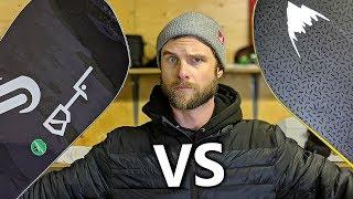 Snowboard Comparison - Deep Thinker VS T.Rice Pro