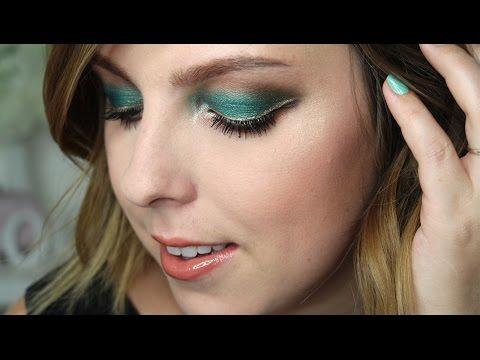 Zelené oči s UD Vice 4 Povídací GRWM Makeup Tutorial