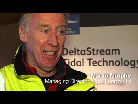 Tidal Energy Ltd's DeltaStream Load Out & Installation (with interviews) 2015