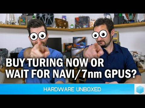 August 2018 Q&A [Part 2] Should You Skip Turing For Navi/7nm? Will AMD Do Ray-Tracing?