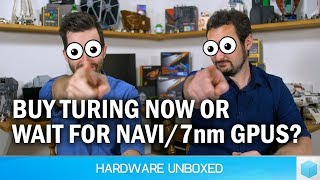 August 2018 Q&A [Part 2] Should You Skip Turing [RTX] For Navi/7nm? Will AMD Do Ray-Tracing?