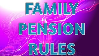 Download IMPORTANT RULES OF FAMILY PENSION Mp3 and Videos