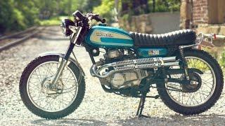 1974 Honda CL 200 by Dan Mantyla