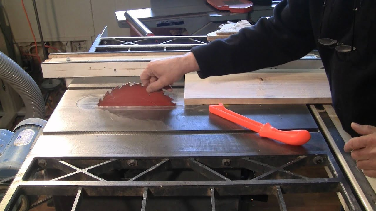 Woodworking Up To Date Table Saw Safety And Proper Push Sticks Youtube