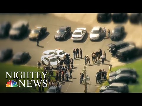 Baltimore Police Officer Killed, Massive Manhunt Underway | NBC Nightly News