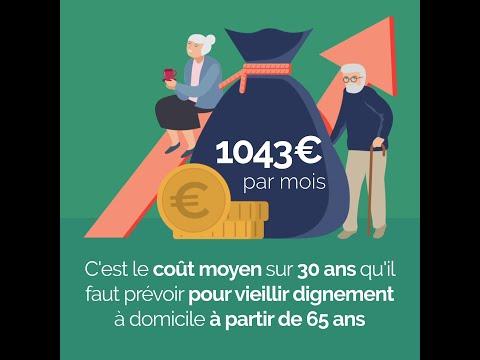 Combien ça coûte d'être vieux en France ? (Baromètre Silver Alliance - Retraite.com)