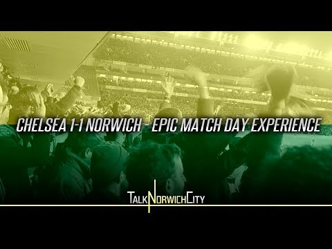 CHELSEA 1-1 NORWICH - EPIC MATCH DAY EXPERIENCE - (LAST MINUTE SCENES)
