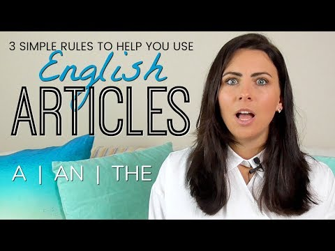 Using English Articles  -  3 Simple Rules To Fix Common Grammar Mistakes & Errors