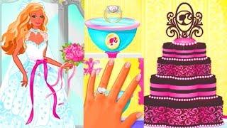 СВАДЕБНОЕ ПЛАТЬЕ БАРБИ.BARBIE WEDDING Dress Shopping Мультики для девочек.#Барби платья,торт,кольцо