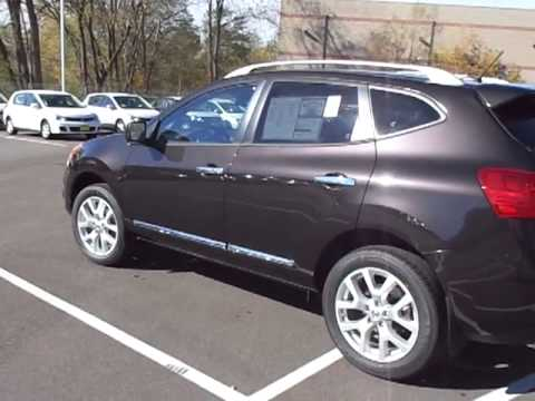 Black Amethyst Nissan Rogue For Kristin Shown By Chad