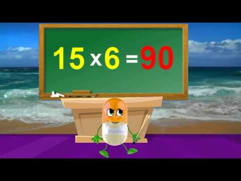 Tutorial | Sing Along 15 Times Table | Kids Songs With Lyrics