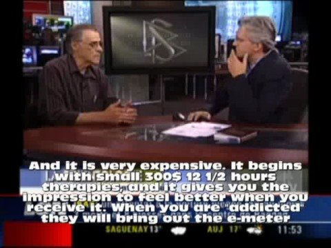 Martineau Interview Jean Paul dubreuil (with subtitles) ex scientology member