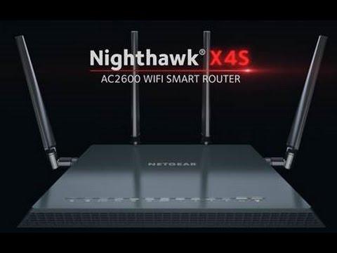 NETGEAR Nighthawk X4S R7800 ac WiFi/Wireless Smart Router