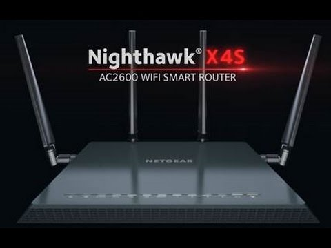 NETGEAR Nighthawk® X4S Wireless Gaming Router - R7800 AC2600 Smart WiFi  Router sizzle video