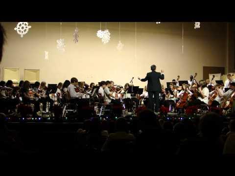 Ellis Middle School 7th & 8th Grade Winter Concert---7th Grade Orchestra