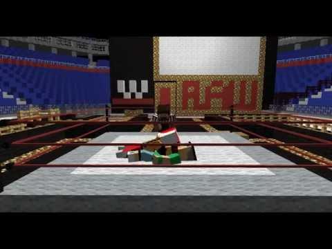 Minecraft WWE (John Cena VS Rey Mysterio) ANIMATION