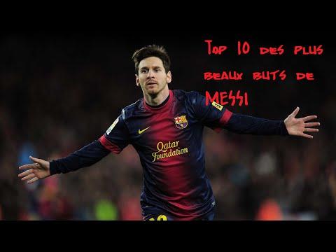 Top 10 des plus beaux buts de Messi