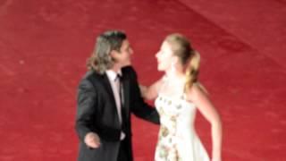 Red carpet del film Her con Joaquin Phoenix, Rooney Mara e Scarlett Johansson.