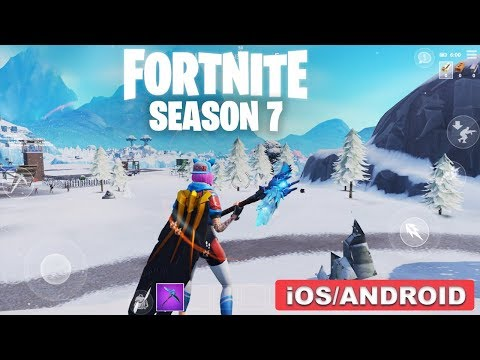 FORTNITE MOBILE SEASON 7 - GAMEPLAY ( ANDROID/iOS )