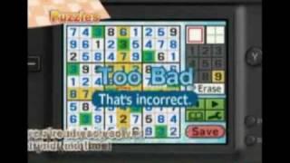 Sudoku Sensei (DSiWare) - www.MonroeWorld.com
